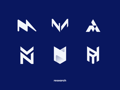 MageNews Logo Design Process m concept process research icon ecommerce atwix magento n sign logotype logo
