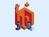 Magento Meetup Sticker