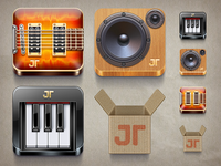 Jamtower icons