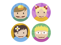 Kids Avatars