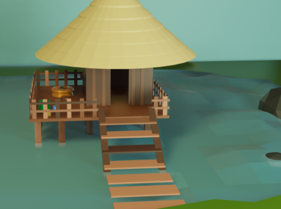 Hut on Water