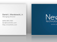 New Business Cards Presentation