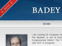 Teaser 2 for a Congressional Candidate's Site