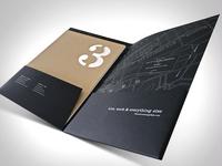 3 Crossings Pocket Folder