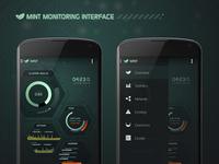 mint Monitoring UI: App