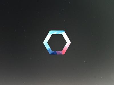 ION Logo logo polygon low polygon