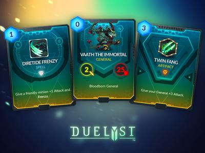 Duelyst Cards - Magmar