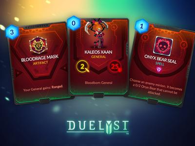 Duelyst Cards - Songhai