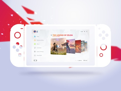 Switch UI Redesign Concept #2