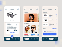 Sunglasses Shop - App Animation