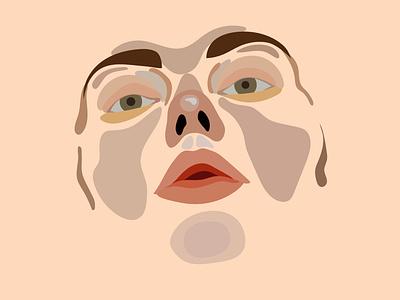 face01 portrait face illustration