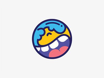 Smile icon logo smile