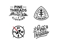Pine Threads Lockups florida orlando nickhammonddesign.com nhammonddesign nick hammond design nick hammond mountain outdoor washington pnw northwest pacific northwest apparel design clothing design pine threads clothing pine threads