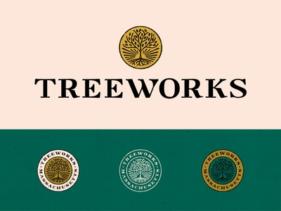 Treeworks Logo Design branding distillate cannabis theconsciousbum.com the conscious bum logo design logo massachusetts