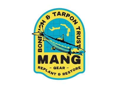 Mang Gear x BTT - Bahamas Restoration Project nhammonddesign nickhammonddesign nick hammond fish manggear.com lockup apparel design apparel bonefish bahamas restoration project bahamas btt mang gear