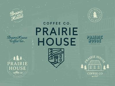 Prairie House Coffee Co orlando florida conscious bum theconsciousbum.com the conscious bum canada badge branding merch design logo design logo coffee prairie house coffee co