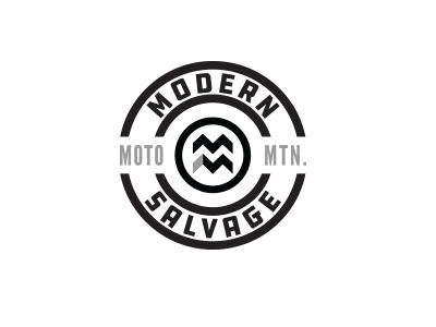 Modern Salvage #2 nickhammonddesign.com nhammonddesign nick hammond design nick hammond lockup typography logo design logo modern salvage