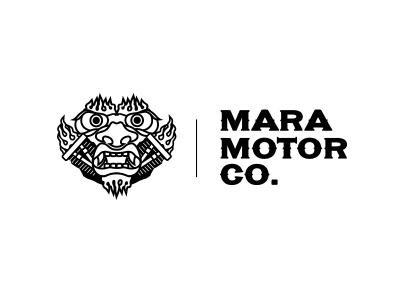 Mara Motor Co. V2 nickhammonddesign.com nhammonddesign nick hammond design nick hammond lockup logo design logo mara motor co mara