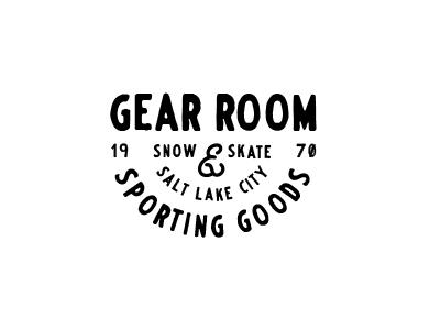 Gear Room Lockup nickhammonddesign.com nhammonddesign nick hammond design nick hammond utah slc salt lake city skate snow sporting goods gear room