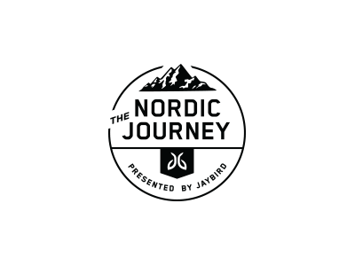 The Nordic Journey nickhammonddesign.com nhammonddesign nick hammond design nick hammond lockup mark ski skiing mountains jaybird nordic journey nordic