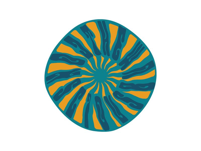 The Conscious Bum florida orlando theconsciousbum.com boho hippy trippy the conscious bum logo design logo