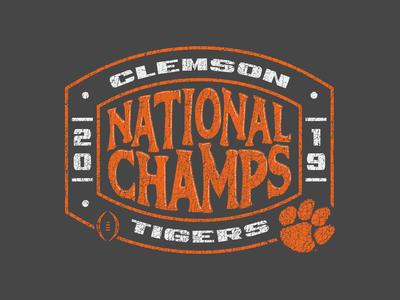 Clemson National Champs