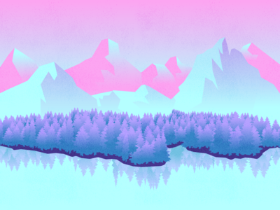 Cotton Candy Mountains