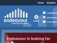 Endeavour Radio Website