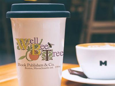 WellBeeTree Logo vintage logo design branding design logo