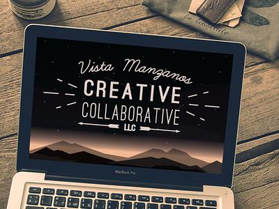 Vista Manzanos Creative Collabrotive branding concept branding agency branding and identity logo branding