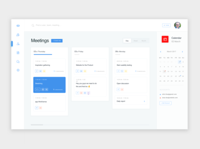 Daily dashboards