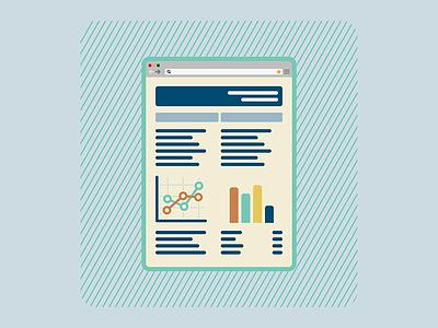 PUENTE - Investment bank chart graphics simple diseño plano design flat