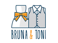 Bruna & Toni wedding logo
