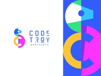 Code Troy - Logotype