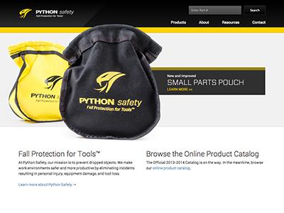 PythonSafety.com V2 python safety web design web development wordpress