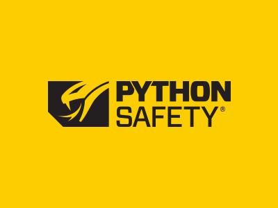 Python Safety Possible Logo Refresh logotype logo python safety