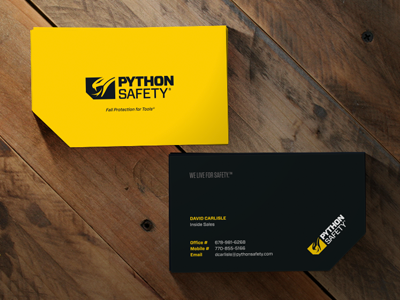 Python safety business cards by david leggett dribbble biz cards new colourmoves