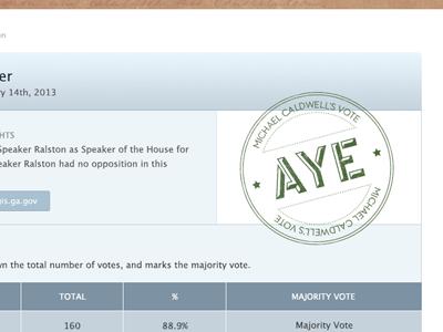 Legislative Tracker WIP politics politician legislation form table interface website data government