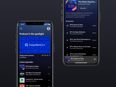 Podcast App - Concept