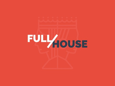 Full/House identity fullhouse casino icon logo