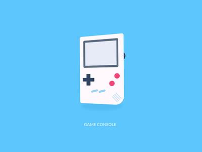 Game Console-Pseudo-3D console game pseudo-3d 3d illustration