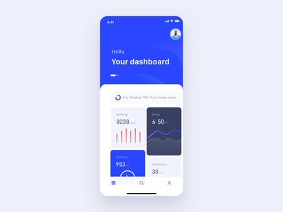 Mobile Health App Animation
