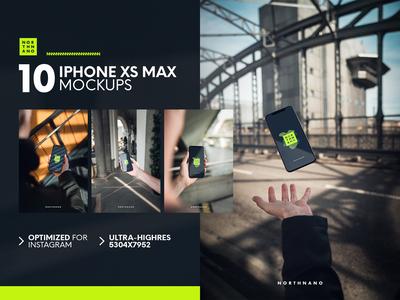 iPhone XS Max Mockups