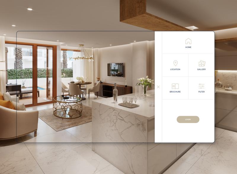 Menu Design app ux ui