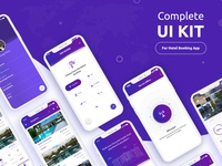 UI Kit for hotel booking app