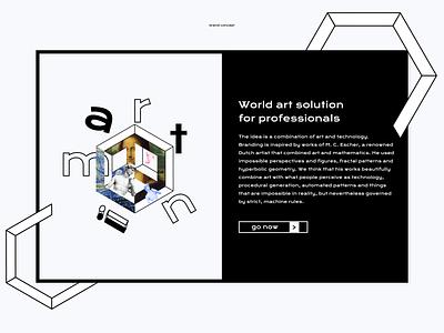 Brutal Branding Concept branding brand identity web figma typography illustration design ui