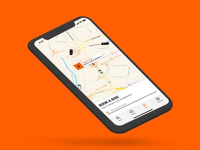 Sixt Ride App design ux app ui