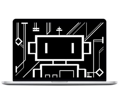 Robo Wallpaper factory50 wallpaper robot lines ixdbelfast