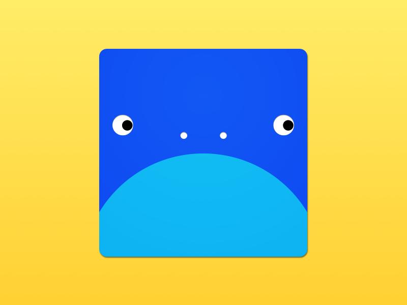 Grumpy Monster grumpy circles revision design icon monster