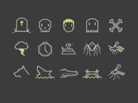 Big Bad World Icons